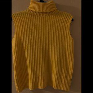 Vintage Alberoy Turtleneck sleeveless sweater